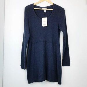 Soft surroundings navy Simone sweater NEW